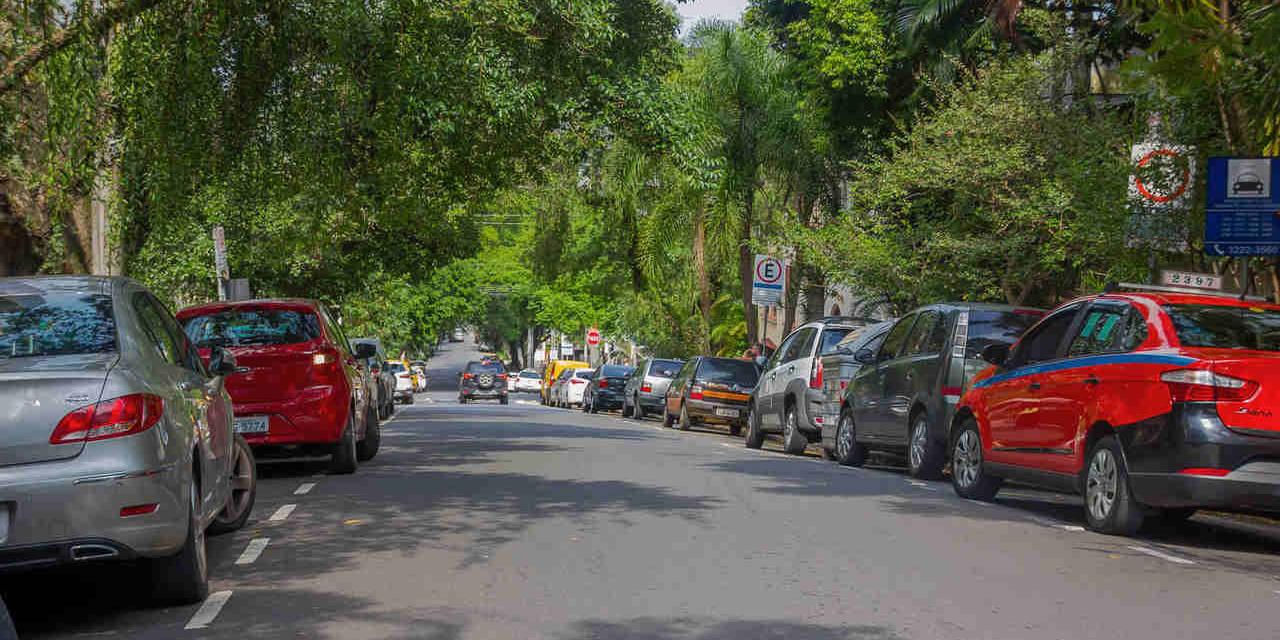 estacionamento regulamentado rotativo publico