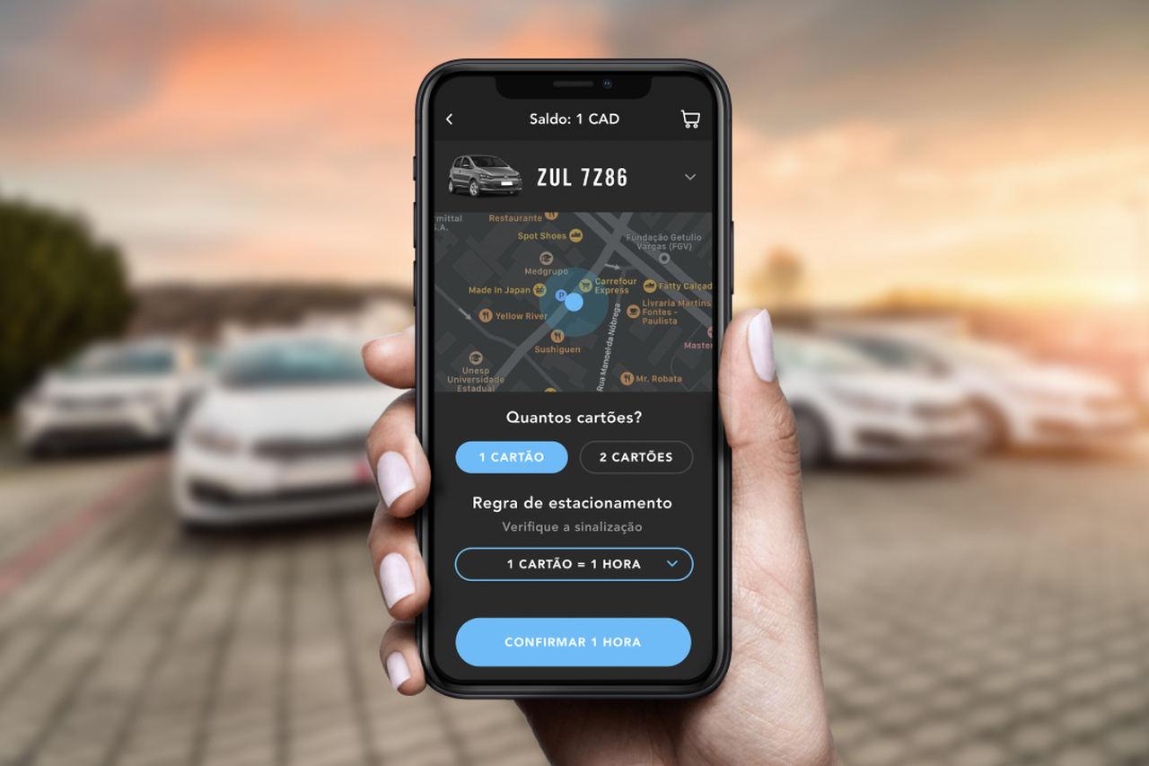 app zul corp estacionamento frotas corporativo