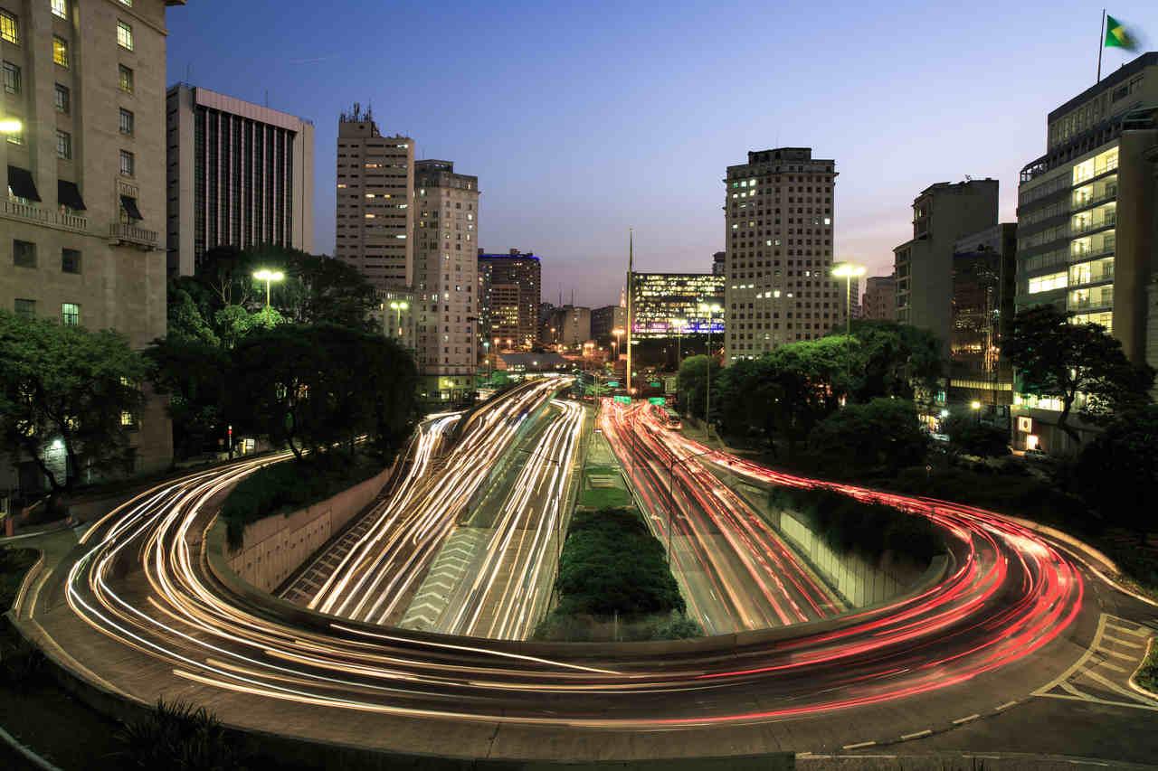 transito de carros em sao paulo 2021