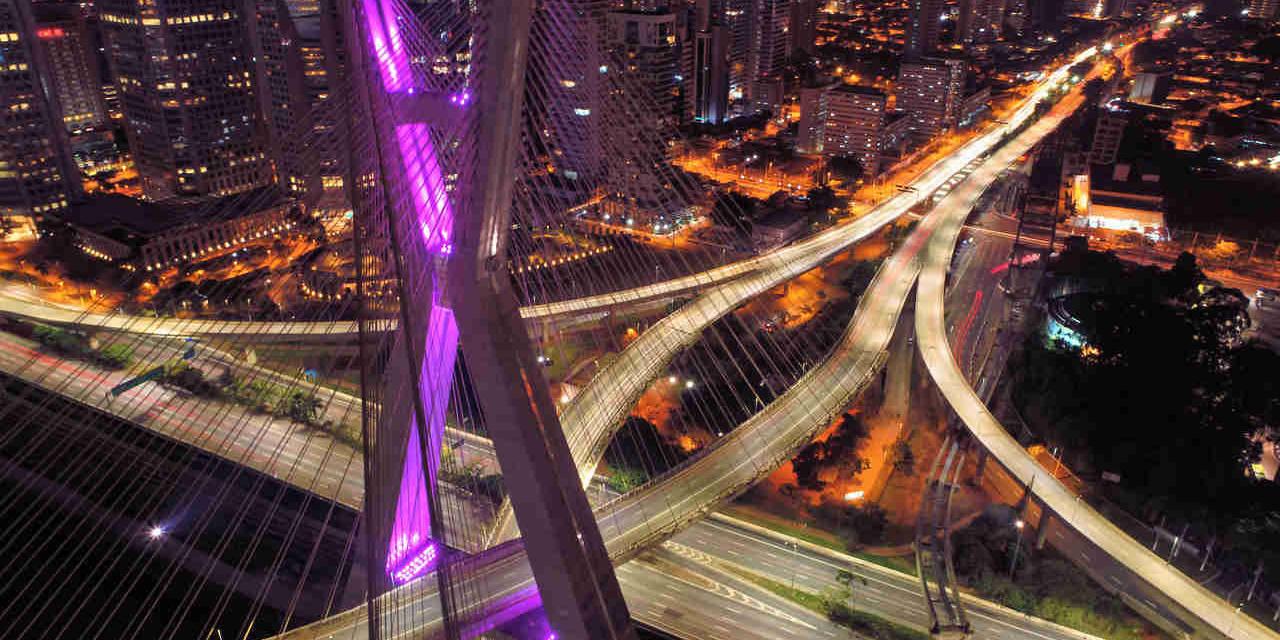 ponte estaiada em sao paulo rodizio noturno