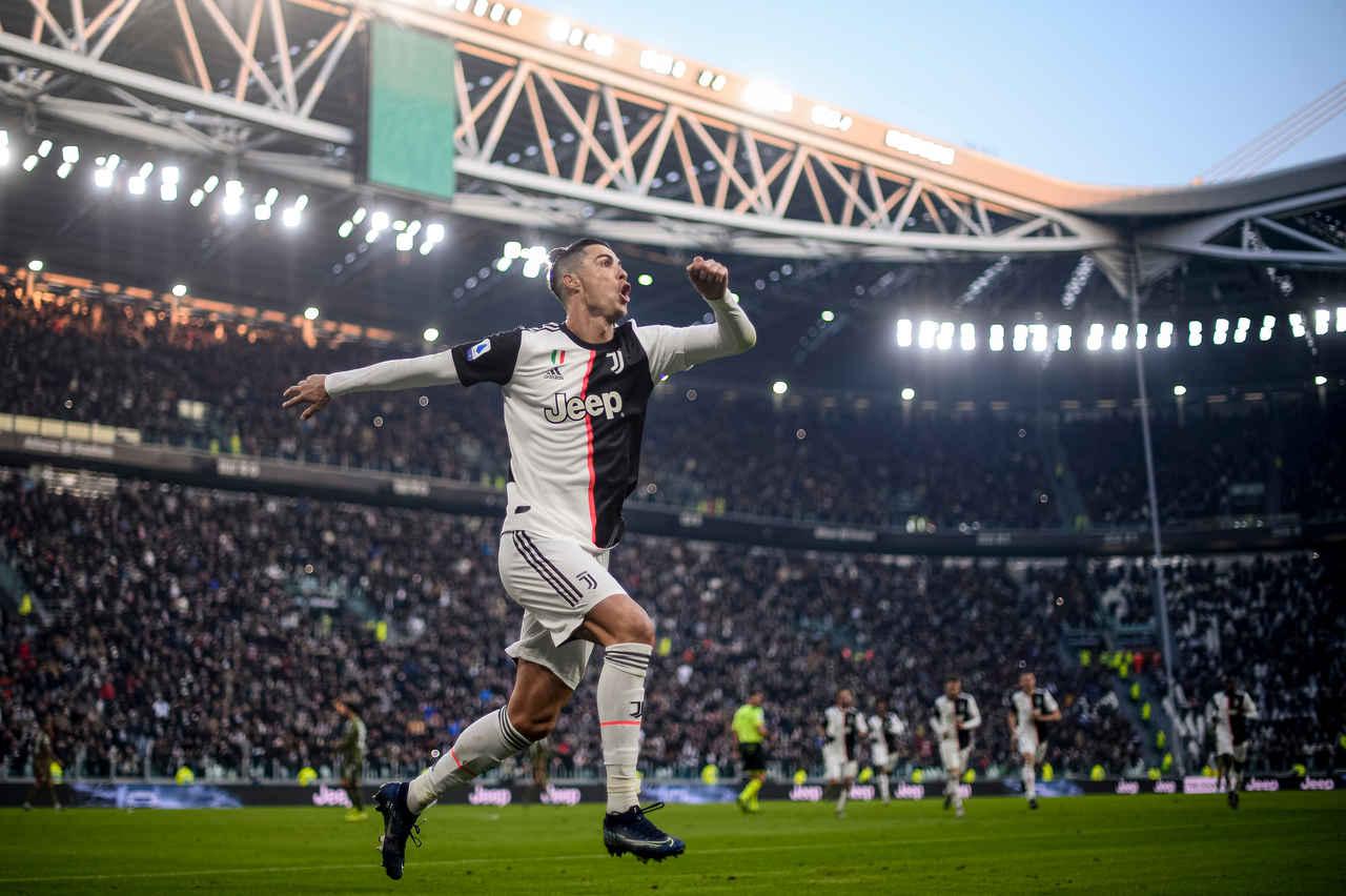 cristiano ronaldo comemora gol