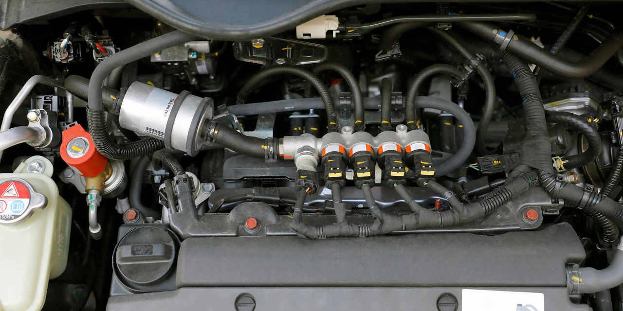 injeção eletrônica do motor de carro